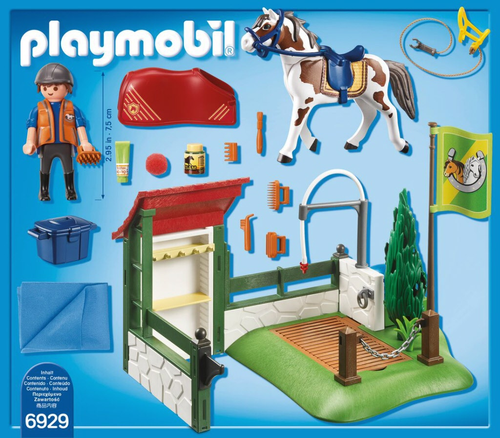 Gratis thuisbezorgd vanaf 39 99 - Douche pour chevaux playmobil ...